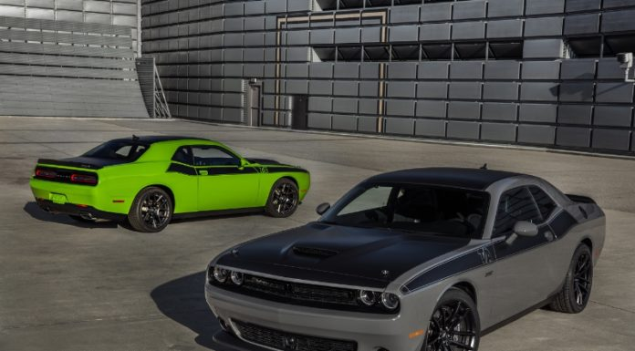 2017 Dodge Challenger available with Forward Collision Warning