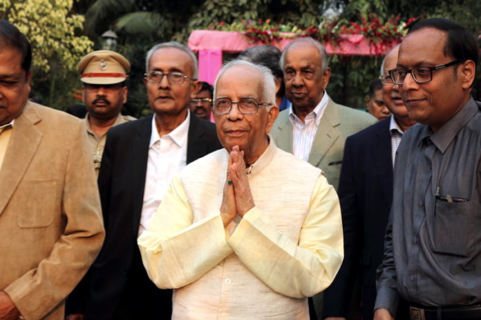 Suman Munshi Chief Editor IBG NEWS along with His Excellency Shri Keshrinath Tripathi Governor of West Bengal