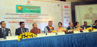 The Minister of State for Communications (Independent Charge) and Railways, Shri Manoj Sinha at the inauguration of the ASEAN India Digital Connectivity Summit, in New Delhi on February 20, 2017. The Secretary, Telecom, Shri J.S. Deepak and other dignitaries are also seen