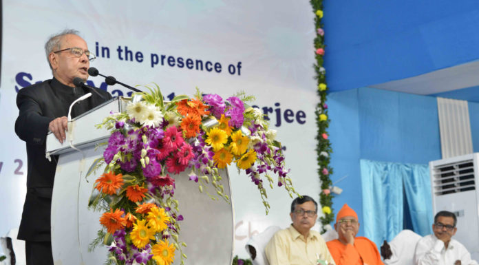 The President, Shri Pranab Mukherjee addressing at the inauguration of the Indian Institute of Liver and Digestive Sciences, at Sonarpur, West Bengal on May 18, 2017.