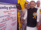The Union Minister for Agriculture and Farmers Welfare, Shri Radha Mohan Singh inaugurating the Cow Shed at Polytechnic in Animal Husbandry, at Kamdhenu University, Himmat Nagar, in Gujarat on May 28, 2017. The Minister of State for Agriculture & Farmers Welfare and Panchayati Raj, Shri Parshottam Rupala is also seen.