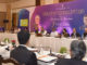 The Union Minister for Electronics & Information Technology and Law & Justice, Shri Ravi Shankar Prasad chairing a High Level Round Table with Pioneers of Industry for developing the roadmap for one Trillion Dollar Digital Economy of India, organised by MEITY, in New Delhi on June 16, 2017. The Minister of State for Electronics & Information Technology and Law & Justice, Shri P.P. Chaudhary, the Secretary, Ministry of Electronics & Information Technology, Ms. Aruna Sundararajan and other dignitaries are also seen.