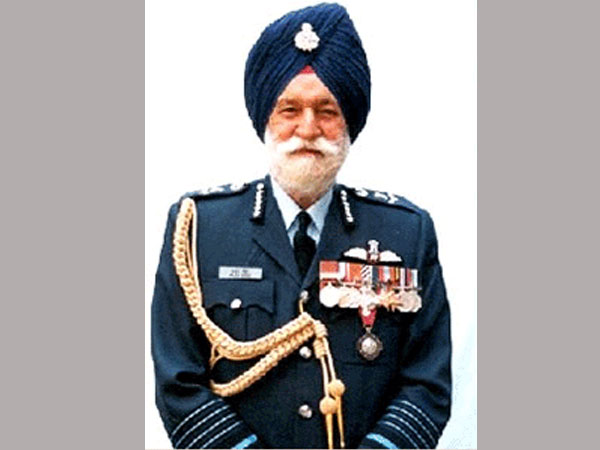 Marshal of the Indian Air Force Arjan Singh