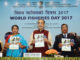 The Union Minister for Agriculture and Farmers Welfare, Shri Radha Mohan Singh releasing the publication at the inauguration of the World Fisheries Day Celebrations 2017, in New Delhi on November 21, 2017. The Minister of State for Agriculture and Farmers Welfare, Smt. Krishna Raj, the Secretary, Department of Animal Husbandry, Dairying and Fisheries, Shri Devendra Chaudhry and other dignitaries are also seen.