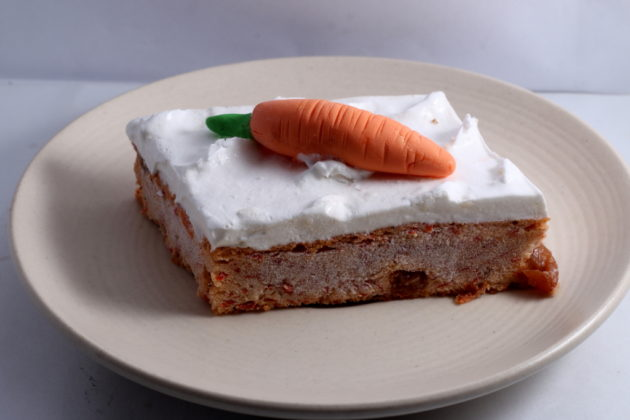 Carrot Cake Eggless Sugerfree