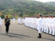The Chief of Army Staff, General Bipin Rawat inspecting the Ceremonial Guard, at the passing out parade - Spring Term 2019, at Indian Naval Academy, in Ezhimala, Kerala on May 25, 2019.