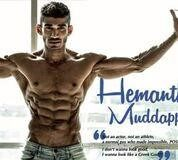 """Hold the vision and trust the process like our Champion """"- Hemanth Muddappa"""