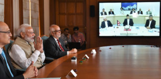 The Prime Minister, Shri Narendra Modi jointly inaugurated the South Asia's first cross-border petroleum products pipeline from Motihari in India to Amlekhgunj in Nepal, through video conference from New Delhi on September 10, 2019.
