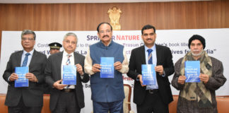 """The Vice President, Shri M. Venkaiah Naidu releasing the book """"Health and Wellbeing in Late Life: Perspectives and Narratives from India"""", in New Delhi on December 21, 2019."""