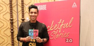 Writer Durjoy Datta launches the second edition of the bestseller book Engage Pocketful O' Stories 2.0 in Kolkata.