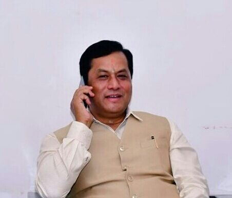 Assam Chief Minister Sarbananda Sonowal talks to eminent personalities over phone amid locdown