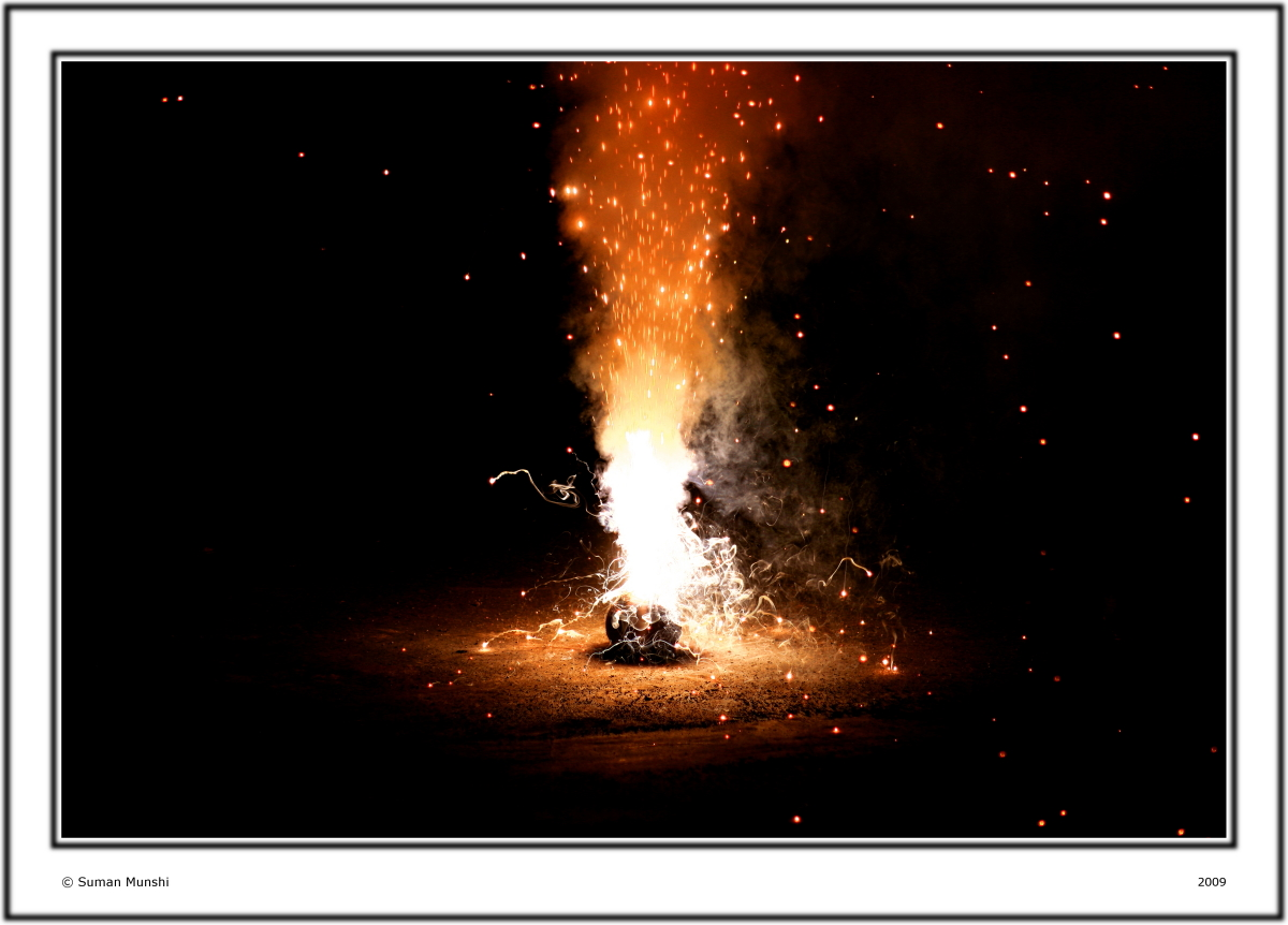 Fire Works of Life