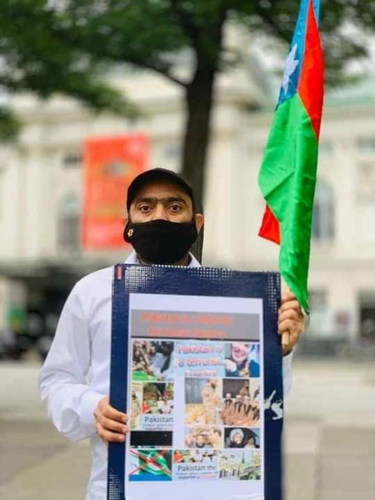 People of Balochistan held a demonstration in Hamburg City in Germany against Baloch Genocide by Pakistan - Photo 1