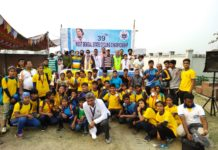 All participants with WBCA Official at the 39th State Cycling Championship