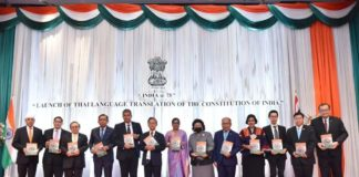 India@75 celebrations were launched in Bangkok - the release of Thai translation of Constitution of India by H.E. Khun Chuan Leekpai