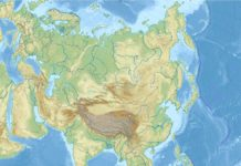 South China Sea is located in Asia by Wikipedia