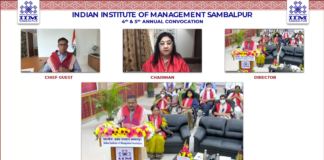IIM Sambalpur conducts 4th & 5th annual convocation in the virtual mode