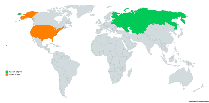 USA and Russia By Wikipedia