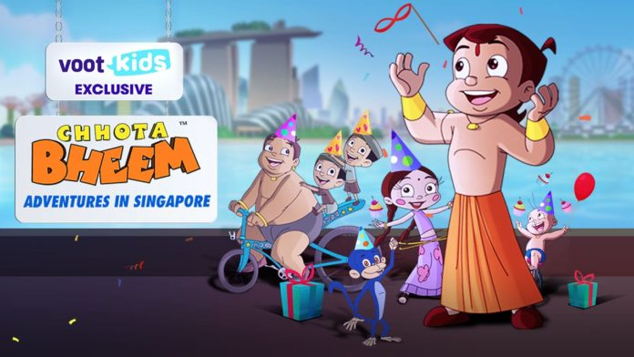 """The Singapore Tourism Board, in partnership with Voot Kids, presents """"Chhota Bheem – Adventures in Singapore"""