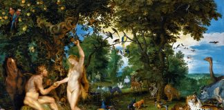 The garden of Eden with the fall of man By Sir Peter Paul Rubens (Source Wikipedia)