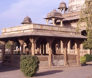 Tomb of Tansen by Wikipedia