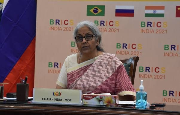 Finance Minister Smt. Nirmala Sitharaman chairs 2nd BRICS Finance Ministers and Central Bank Governors Meeting
