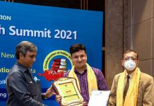 Kolkata's leading clinical trial specialist Dr Subhrajyoti Bhowmick felicitated
