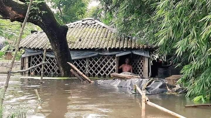 Flood at Midnapore