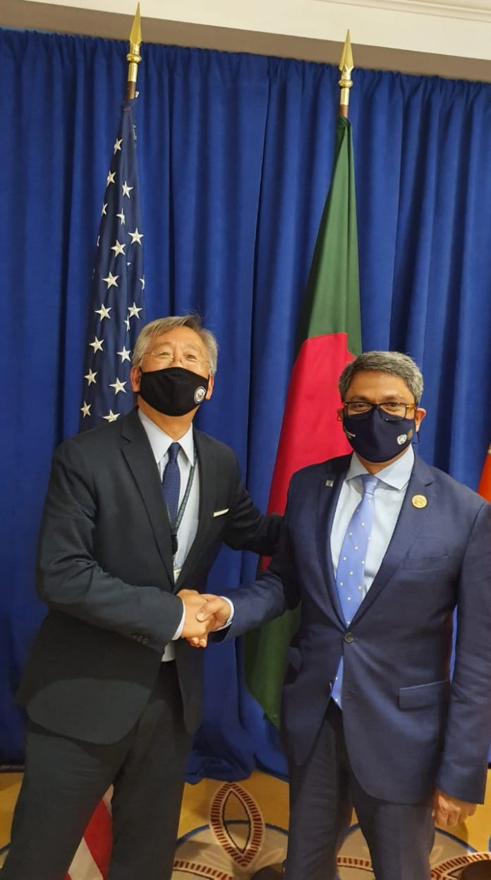 Bangladesh State Minister Shahriar Alam invites US investment in Bangladesh in meeting with US Deputy Secretary of State