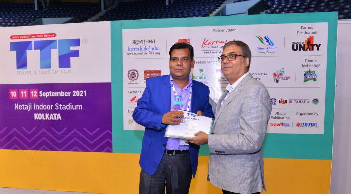 TTF Kolkata ends today on a high note indicating gradual restart of travel & tourism