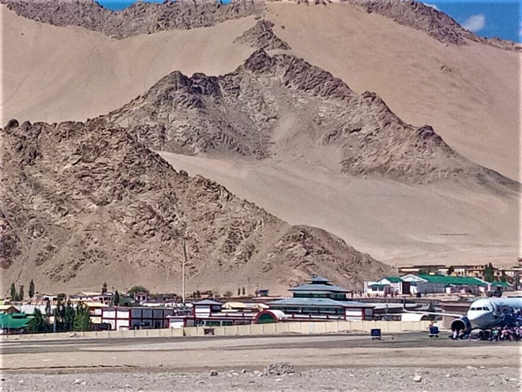 Leh Airport Overview by Rumi Das