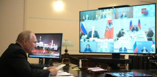 Meeting on economic issues (via videoconference).