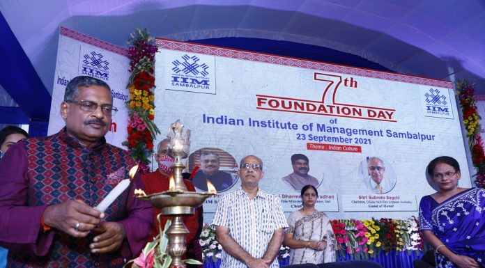IIM Sambalpur celebrates its 7th Foundation Day embracing the diverse cultural heritage of India