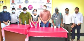 ESI Hospital, Maniktala In Association With Calcutta Eye Hospital & Society For The Welfare Of The Blind Organizes Exclusive Vaccination Camp For Visually impaired
