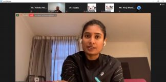 Mind Your Minds Game Mental health awareness programme with Padma Shree Mithali Raj, Captain of Indian Women Cricket Team