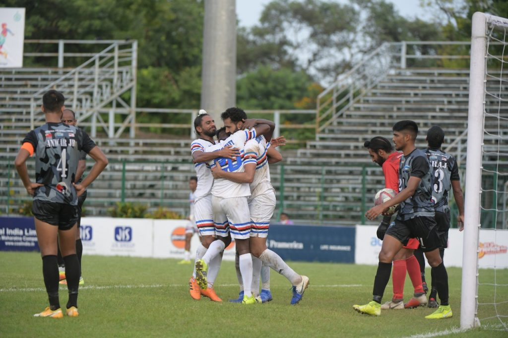 Indian Navy win against Delhi FC in opening Group C encounter of 130thDurand Cup