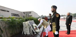 PM Modi pays homage to police personnel martyred in the line of duty on Police Commemoration Day