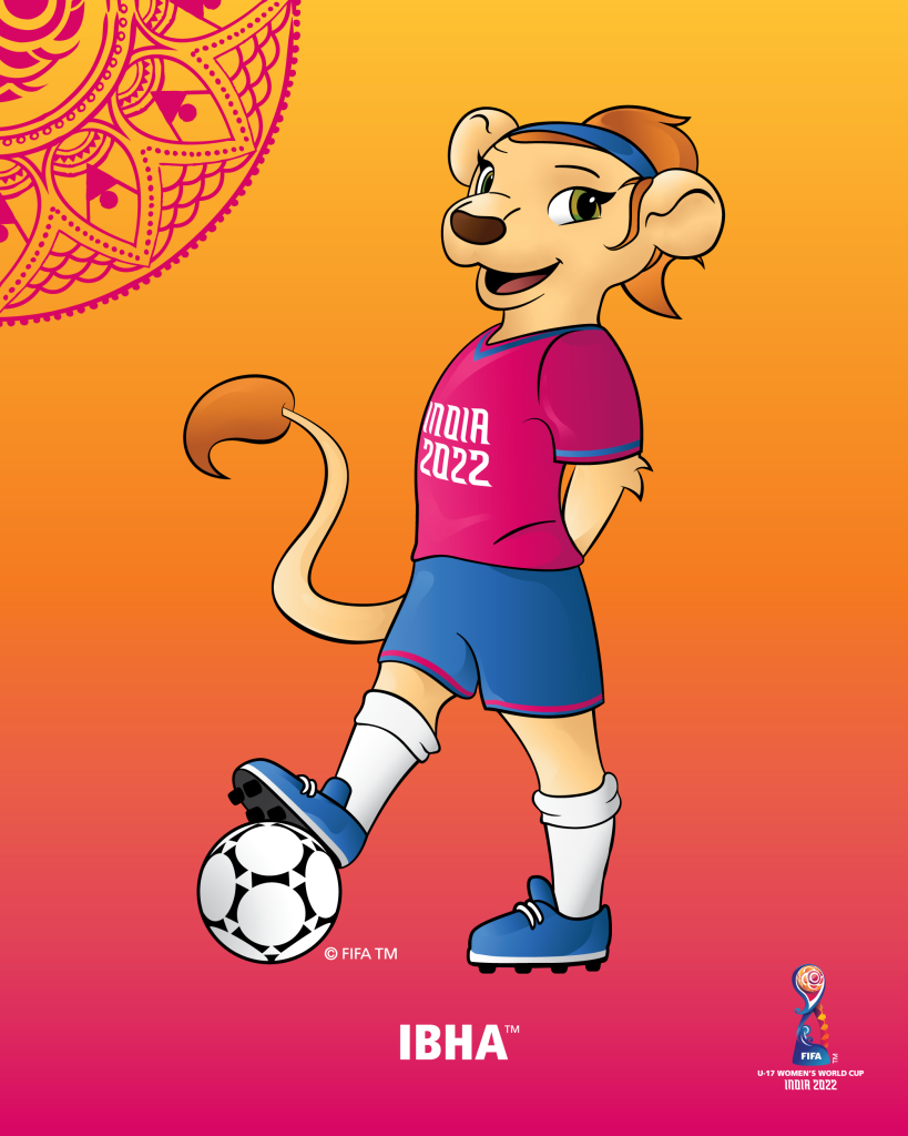 Introducing Ibha™ – Official Mascot revealed for FIFA U-17 Women's World Cup India 2022™