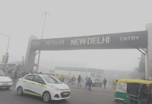 New Delhi Pollution due to Smog by Wikipedia