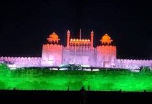 Red Fort after 100 Cr Vaccination